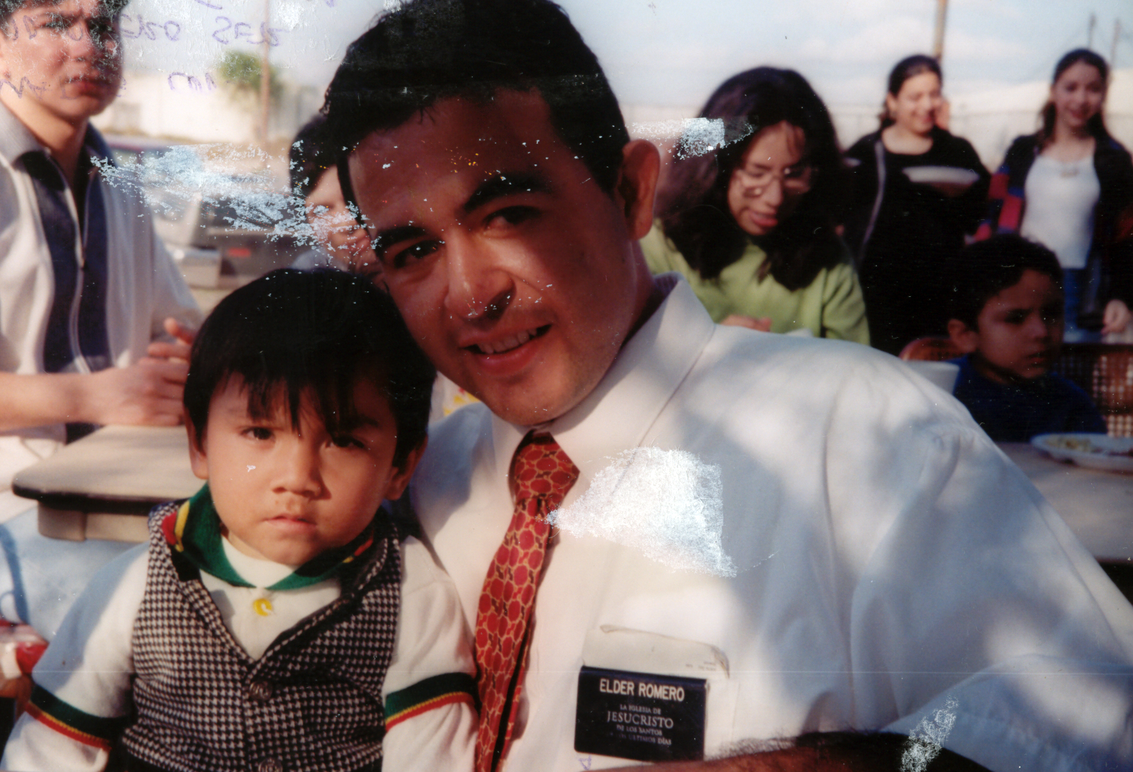 Elder Romero - Texas McAllen Mission 1997.